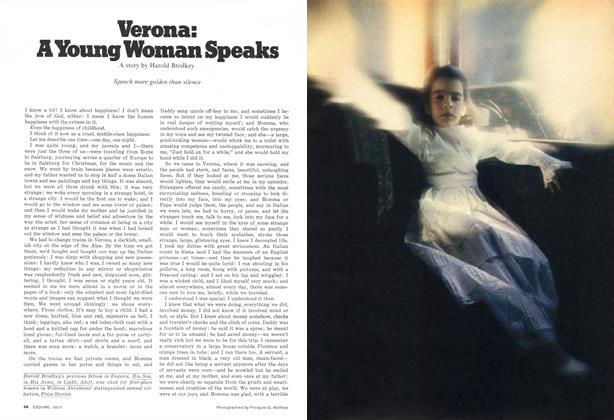 Article Preview: Verona: A Young Woman Speaks, JULY 1977 1977 | Esquire