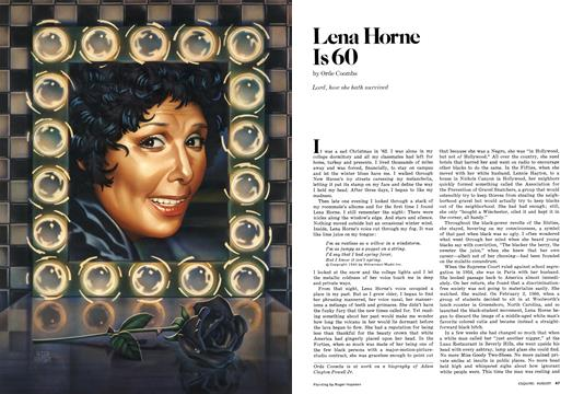 Lena Horne Is 60 - August | Esquire