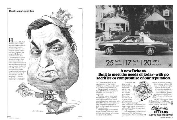 Article Preview: David Levine's Vanity Fair, AUGUST 1977 1977   Esquire