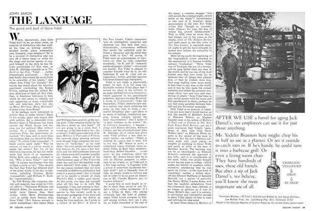 The Good and Bad of Gore Vidal