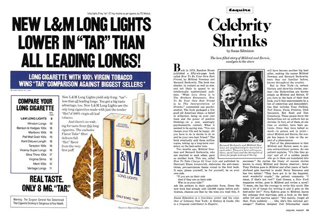 Article Preview: Celebrity Shrinks, August 1977 | Esquire