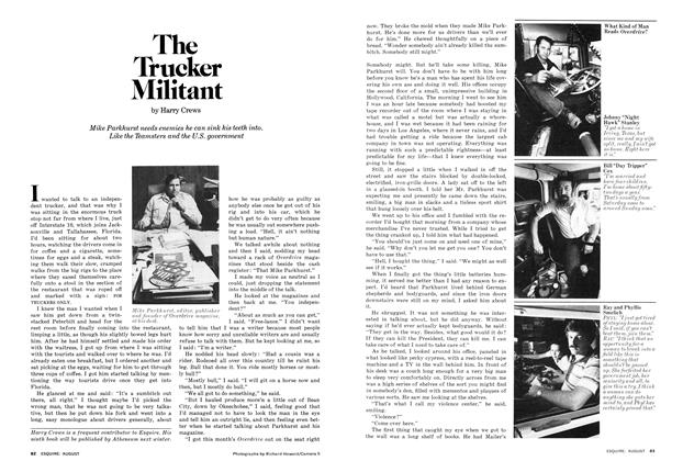 Article Preview: The Trucker Militant, August 1977 | Esquire