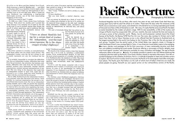 Article Preview: Pacific Overture, AUGUST 1977 1977 | Esquire