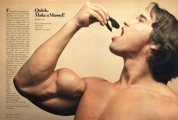 Quick, Make a Mussel!