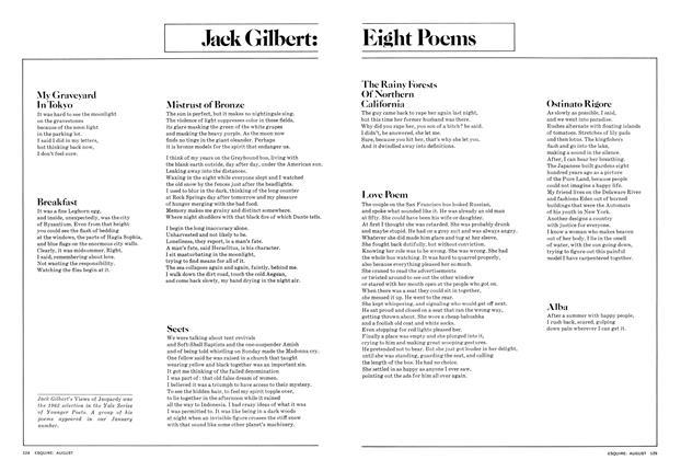 Eight Poems