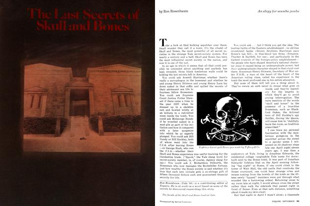 Article Preview: The Last Secrets of Skull and Bones, SEPTEMBER 1977 1977 | Esquire