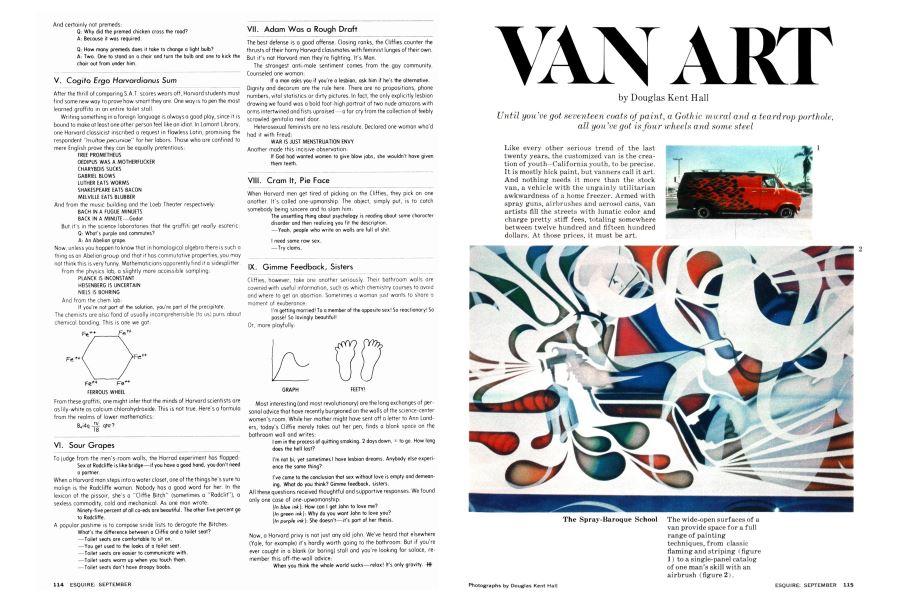 Van Art | Esquire | SEPTEMBER 1977