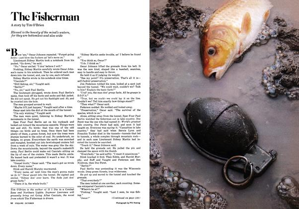 Article Preview: The Fisherman, OCTOBER 1977 1977 | Esquire