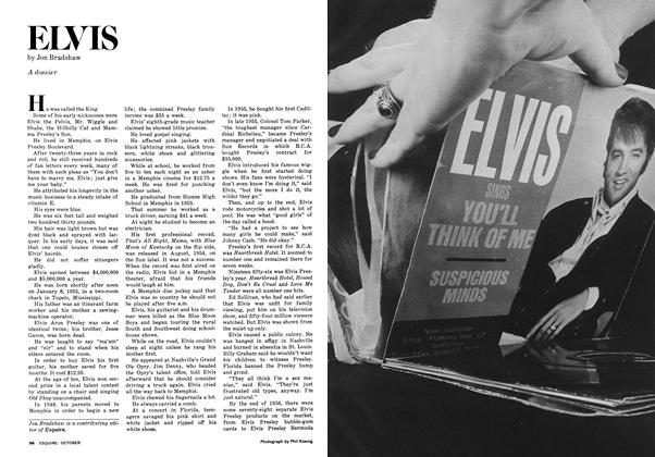 Article Preview: ELVIS, OCTOBER 1977 1977 | Esquire