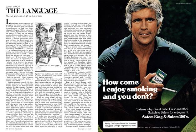 Article Preview: The Wit and Wisdom of Catch Phrases, NOVEMBER 1977 1977   Esquire