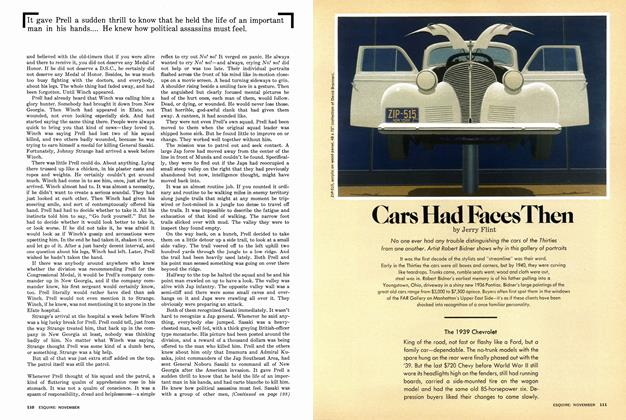 Article Preview: Cars Had Faces Then, November 1977 | Esquire