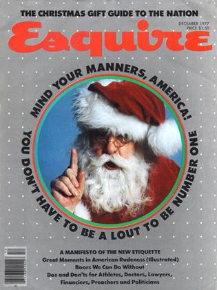 Cover for the December 1977 issue