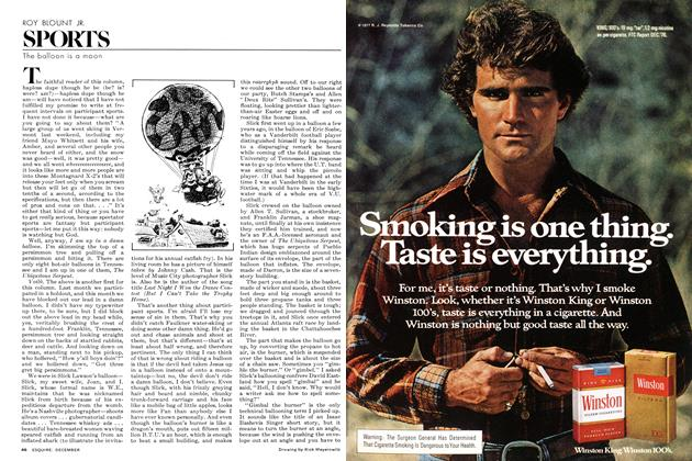 Article Preview: The Balloon Is a Moon, DECEMBER 1977 1977 | Esquire