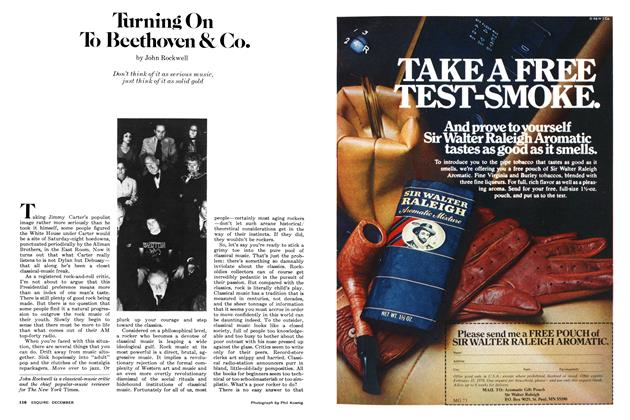 Article Preview: Turning On To Beethoven & Co., December 1977 | Esquire