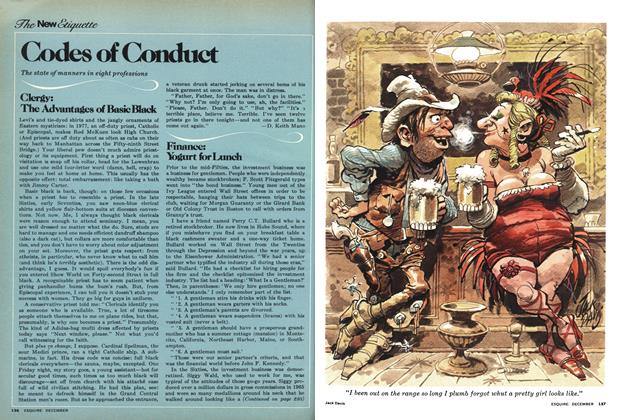 Article Preview: Codes of Conduct, December 1977 | Esquire