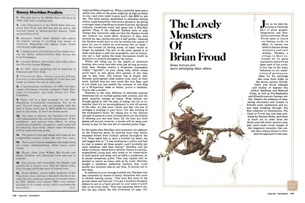 Article Preview: The Lovely Monsters of Brian Froud, December 1977 | Esquire