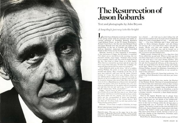 Article Preview: The Resurrection of Jason Robards, JANUARY 1978 1978 | Esquire