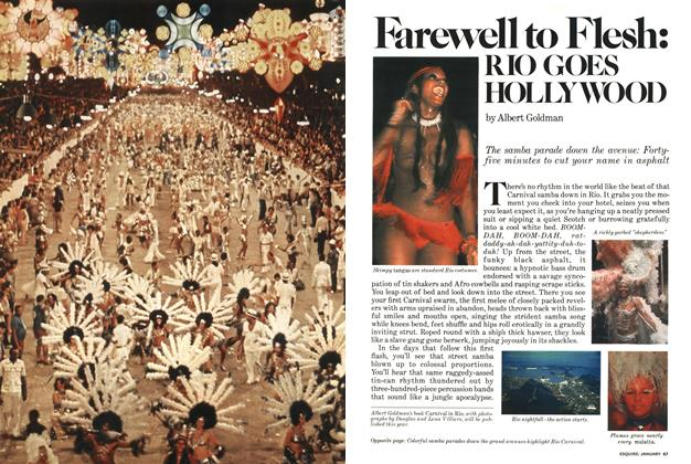 Article Preview: Farewell to Flesh: Rio Goes Hollywood, JANUARY 1978 1978 | Esquire