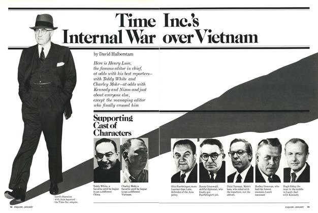 Article Preview: Time Inc.'s Internal War Over Vietnam, January 1978 | Esquire