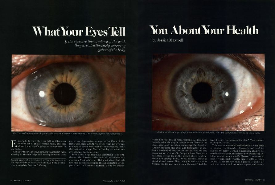 What Your Eyes Tell You About Your Health | Esquire