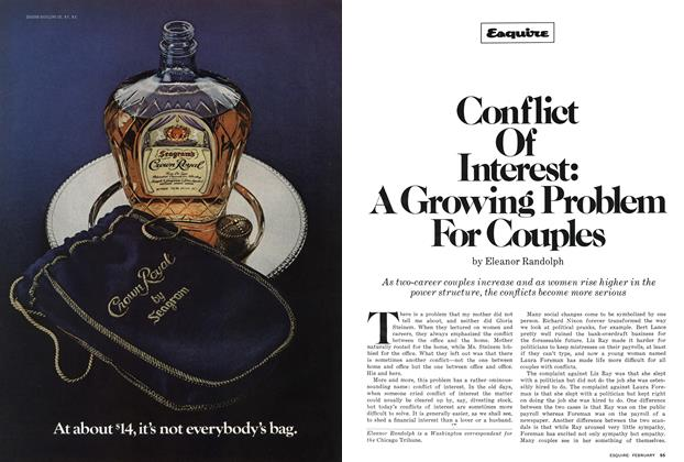 Article Preview: Conflict of Interest: a Growing Problem for Couples, February 1978 | Esquire
