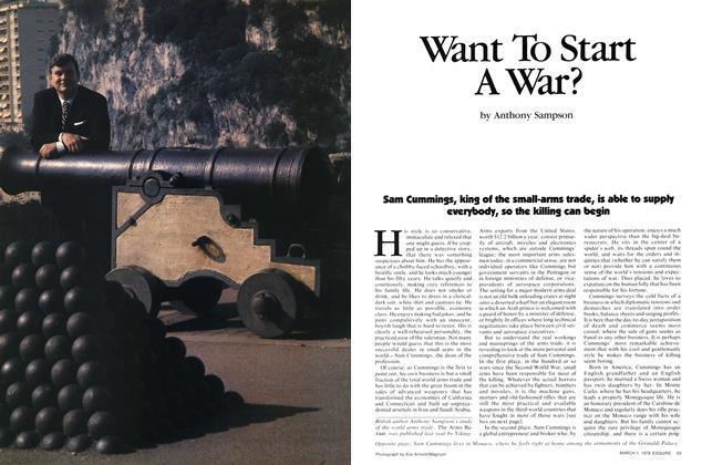 Want to Start a War?