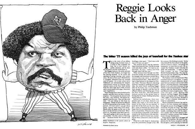 Article Preview: Reggie Looks Back in Anger, March 1,1978 1978 | Esquire