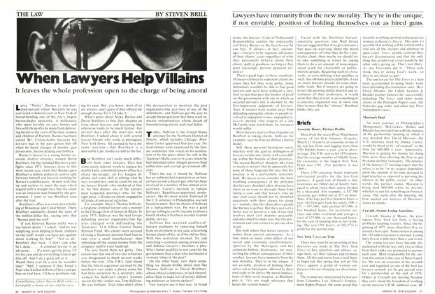 When Lawyers Help Villains
