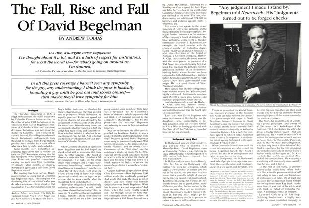 The Fall, Rise and Fall of David Begelman