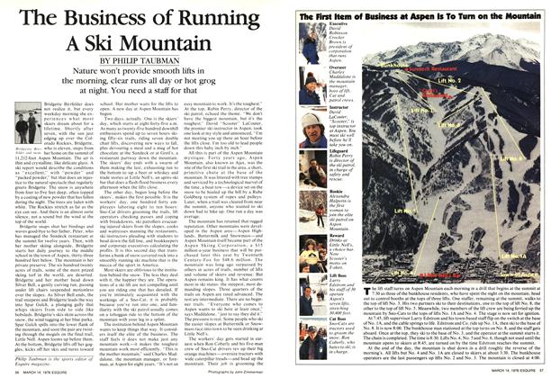 The Business of Running A Ski Mountain