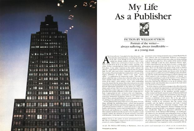Article Preview: My Life As a Publisher, March 14,  1978 | Esquire