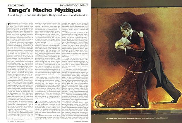 Article Preview: Tango's Macho Mystique, March 14, 1978 1978 | Esquire