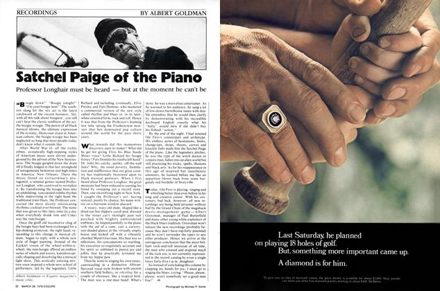 Article Preview: Satchel Paige of the Piano, March 28,  1978 | Esquire