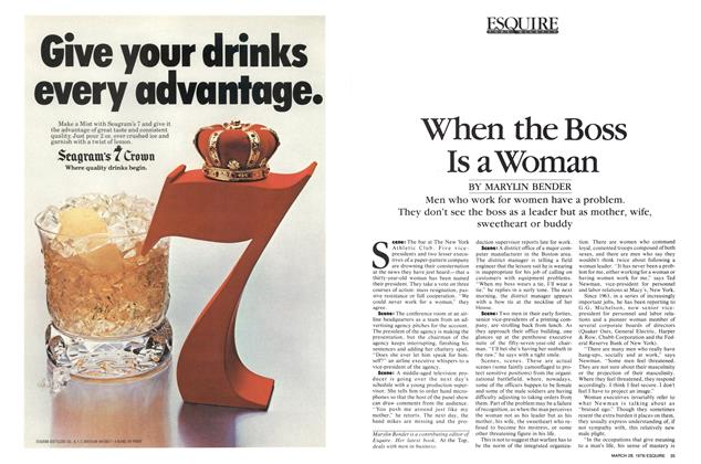Article Preview: When the Boss Is a Woman, March 28,  1978 | Esquire