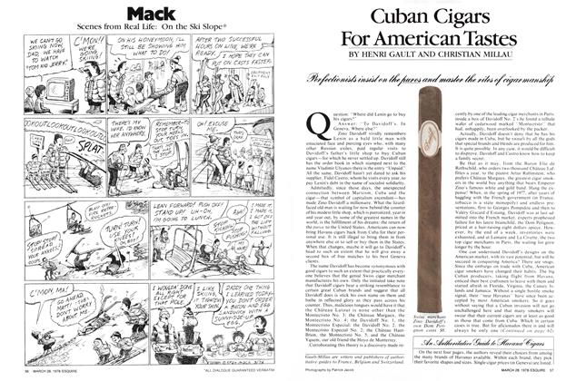 Cuban Cigars for American Tastes