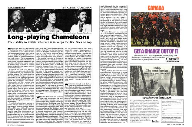 Article Preview: Long-playing Chameleons, April 11,  1978 | Esquire