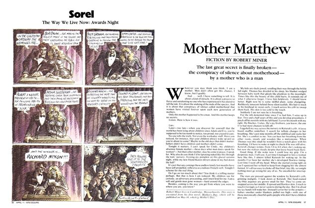 Article Preview: Mother Matthew, April 11,  1978 | Esquire