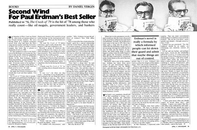 Second Wind for Paul Erdman's Best Seller