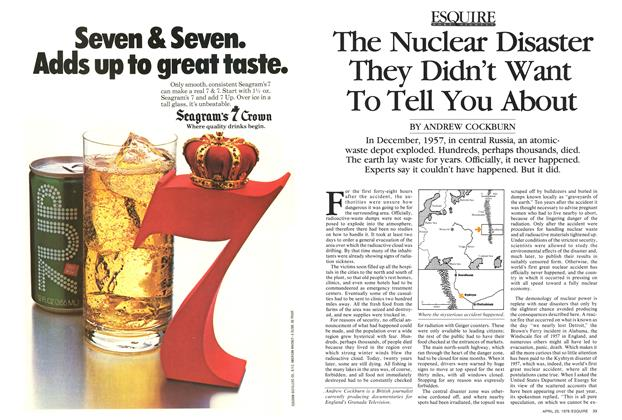 The Nuclear Disaster They Didn't Want to Tell You About