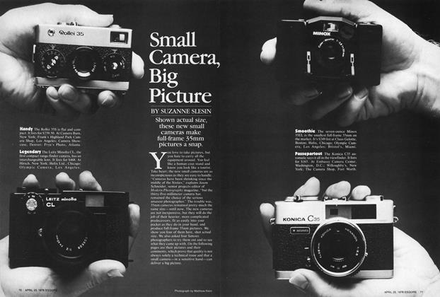 Article Preview: Small Camera, Big Picture, April 25,1978 1978 | Esquire