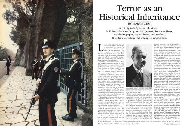 Terror as An Historical Inheritance