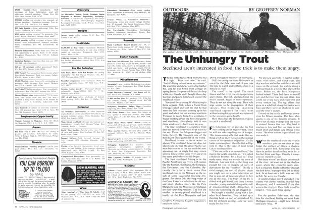 Article Preview: The Unhungry Trout, April 25,  1978 | Esquire