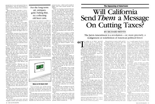 Will California Send Them a Message on Cutting Taxes?