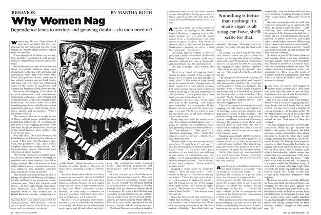 Why Women Nag