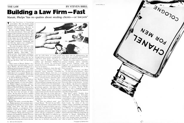 Building a Law Firm—Fast
