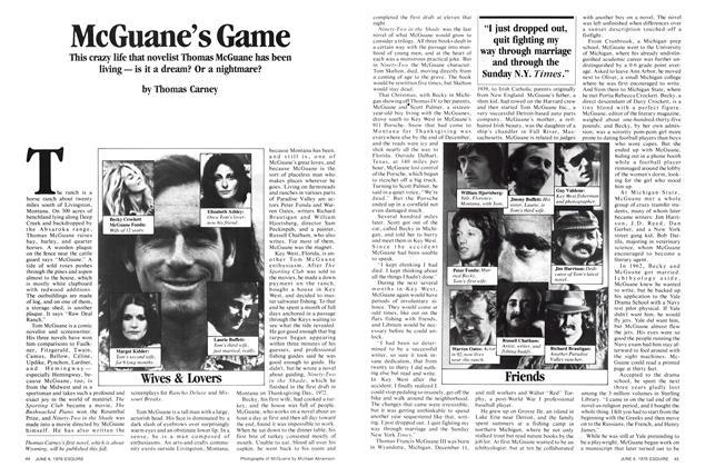 McGuane's Game