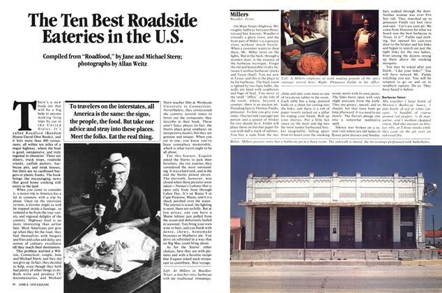 The Ten Best Roadside Eateries in the U.s.