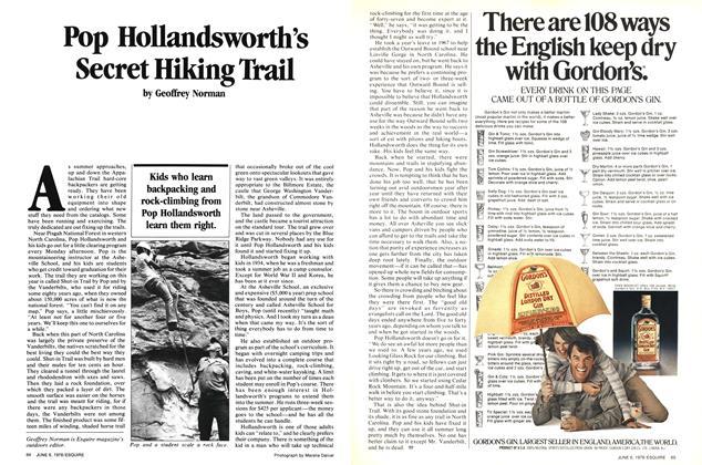 Article Preview: Pop Hollandsworth's Secret Hiking Trail, June 6, 1978 1978 | Esquire