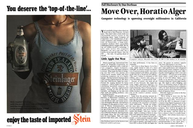 Article Preview: Move Over, Horatio Alger, June 6, 1978 1978 | Esquire