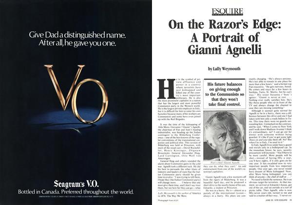 On the Razor's Edge: A Portrait of Gianni Agnelli